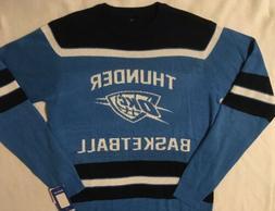 Oklahoma City Thunder OKC Men's Sweater Fan Wear Glow in the