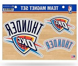 Oklahoma City Thunder OKC Multi Die Cut Magnet Sheet Auto Ho