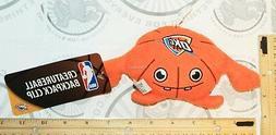 "Oklahoma City Thunder OKC PLUSH NBA Backpack Clip 7""  Lice"