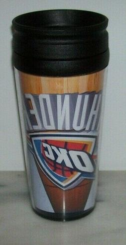 OKLAHOMA CITY THUNDER OKC TRAVEL MUG CUP BRAND NEW!!!!!!