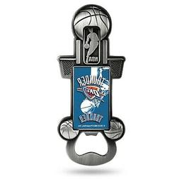 Oklahoma City Thunder Party Starter Magnetic Pewter Bottle O