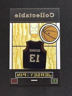 Oklahoma City Thunder Paul George jersey lapel pin-Classic C