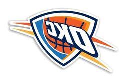 Oklahoma City Thunder Precision Cut Decal / Sticker