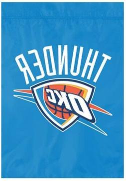Oklahoma City Thunder Premium Garden Flag Applique Embroider