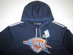 Oklahoma City Thunder Adidas Pullover Hoodie Sweatshirt Men'