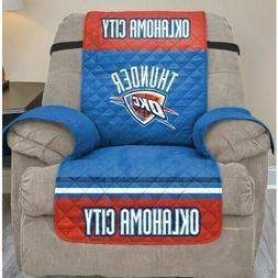 Oklahoma City Thunder Recliner Slipcover NBA Team Logo Seati