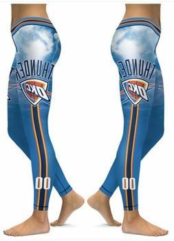 Oklahoma City Thunder Small to 2X-Large Womens Leggings