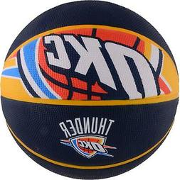 Oklahoma City Thunder Spalding Courtside Team Basketball - F