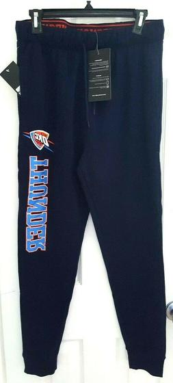 OKLAHOMA CITY THUNDER Sweatpants Size Large Joggers Stretchy