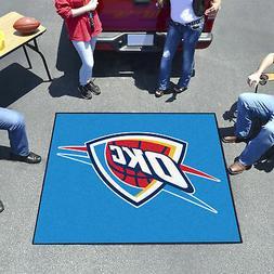 oklahoma city thunder tailgater mat decor 59
