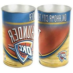 Oklahoma City Thunder Wastebasket 15 Inch