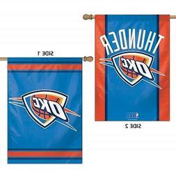 Oklahoma City Thunder WC Garden Flag Premium 2-Sided Outdoor
