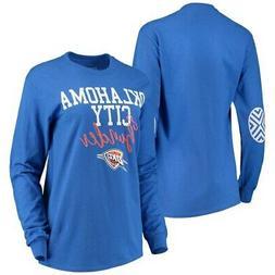 Oklahoma City Thunder Women's Elbow Patch Long Sleeve T-Shir