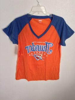 Oklahoma City Thunder Womens Shirt Size XL V Neck Westbrook