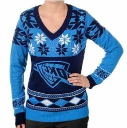 OKLAHOMA CITY THUNDER Womens Sweater Size Medium Large XL Ug