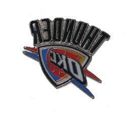 Oklahoma Thunder Logo Pin