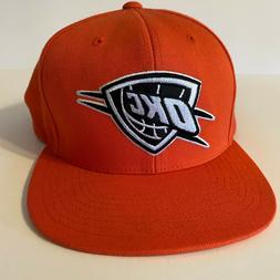 Orange OKC Thunder Mitchell & Ness Hat / Cap NBA - Strapback