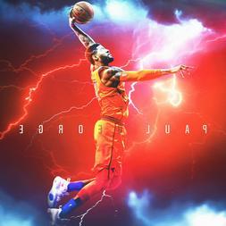 Paul George Poster NBA Oklahoma City Thunder artwork Paul Ge