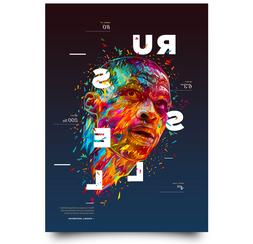 russel westbrook artwork poster nba oklahoma city