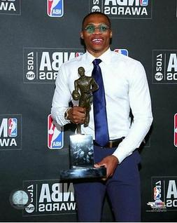 Russell Westbrook 2017 NBA Most Valuable Player MVP Trophy 8