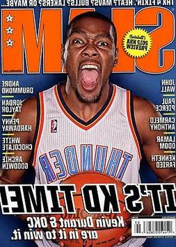 Slam Magazine #155 basketball OKLAHOMA CITY THUNDER KEVIN DU