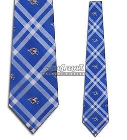 Thunders Tie Oklahoma City Thunder Neckties Licensed Mens Ne