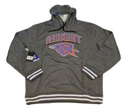 UNK NBA Oklahoma City Thunder Name And Logo OKC Men's Hooded